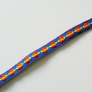 Band blau orange