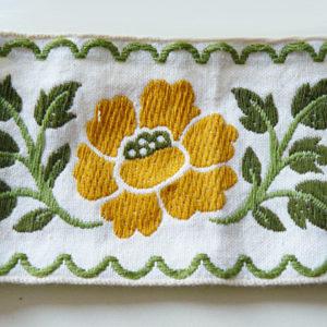 Band gelbe Blume - Rest