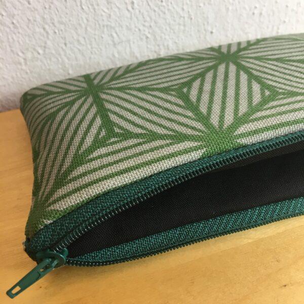 Mäppchen grün Geometrisch